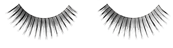 Photo of false eyelashes