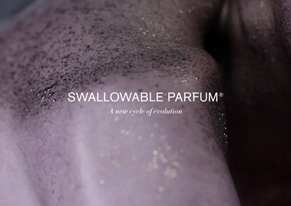 Swallowable Perfum Pill Advertisment