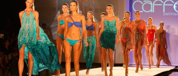 Models Walking The Runway