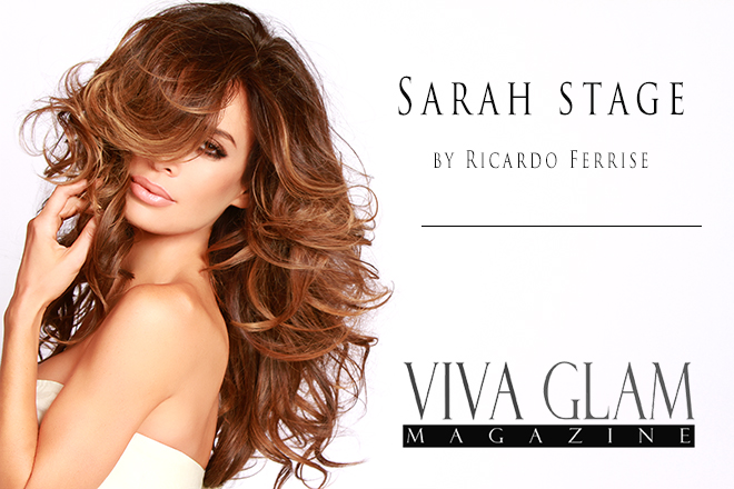 Sarah Stage for Viva Glam Magazine